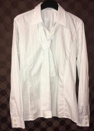 Приталенная рубашка блуза barbour