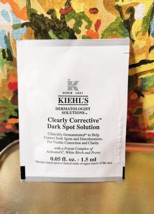 Сыворотка для выравнивания тона лица против покраснений и пигментации kiehls