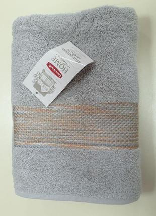 Стильное махровое полотенце bennet home 100% хлопок