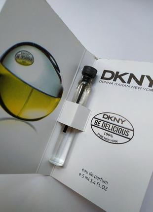 Очень стойкий парфюм мини духи dkny be delicious donna karan