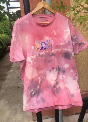 Кастомная футболка stussy