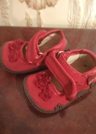 Туфельки для малышки 18 р