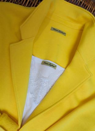 Стильный трикотажный пиджак2 фото