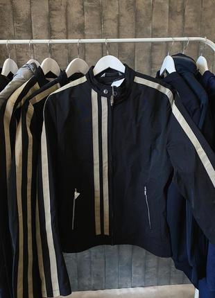 Мужская куртка косуха на весну  м,л,ххл размер zara man скидка
