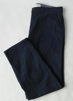 Синие брюки george regular leg w 36 l 32