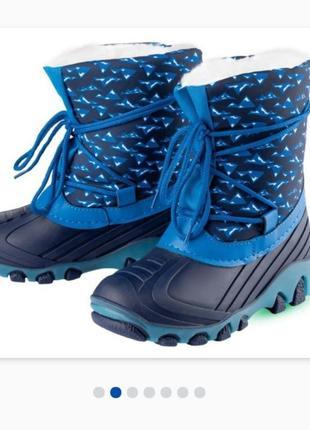 Сапожки lupilu ботинки
