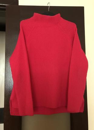 Шикарный свитер крупной вязки !!