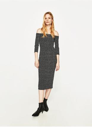 Супер классное платье zara p.s-m.