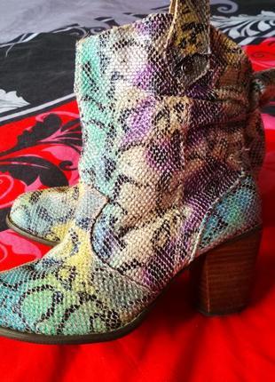 Яркие симпатичные ботинки every one2 фото