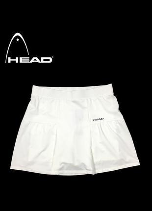 Спортивная юбка head basic skort white