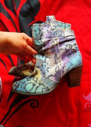 Яркие симпатичные ботинки every one1 фото