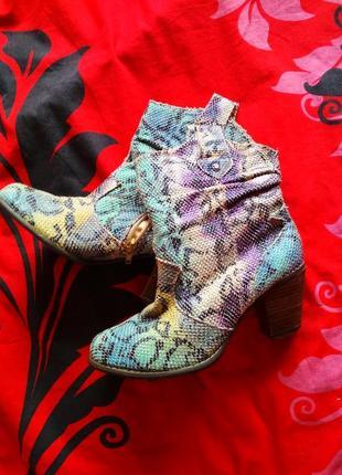Яркие симпатичные ботинки every one4 фото