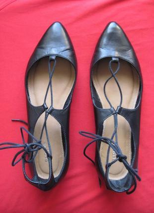 Globus (39) кожаные балетки