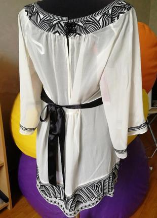 Роскошная блуза из натурального шёлка с бирками monsoon