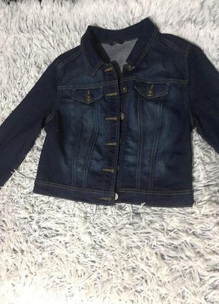 Стильный джинсовый пиджачок george