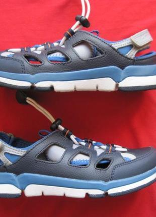 Clarks tri magic (31) кожаные сандалии детские