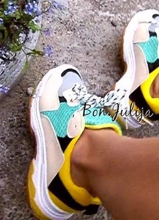 Крутые кроссовки унисекс , в стиле balenciaga, размер 40, новые
