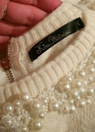 Теплый свитер kira plastinina