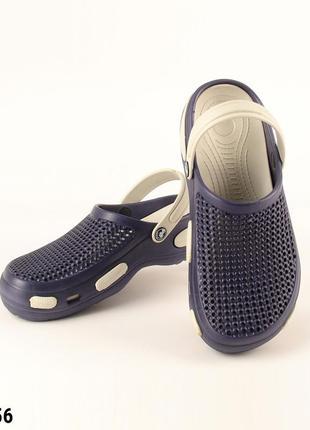 Сабо, кроксы мужские, синие, р. 40-46; медицинская обувь, 115556