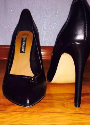 Туфли, кожа, италия, размер 38