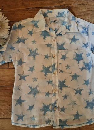 Рубашка в звезды для мальчика