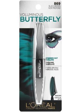 Тушь для ресниц   l'oreal paris  voluminous butterfly