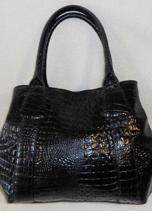 Большая сумка *l.k.bennett* натуральная кожа