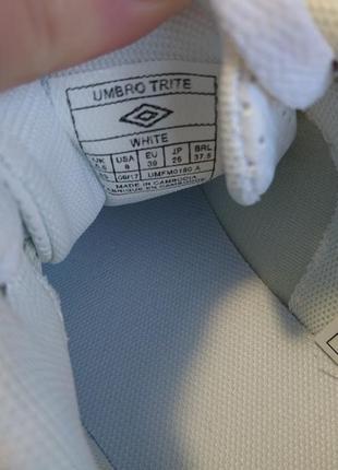 Женские кроссовки/кеды umbro белые и чёрные 👌3 фото