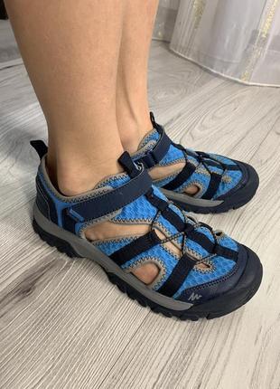 👍качественные сандали бренда quechua.