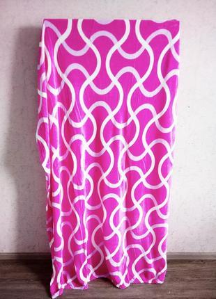 140см.×205см. новый плед,покрывало,одеяло,велюровое, розовое