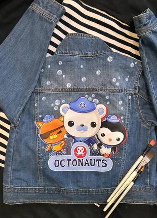Джинсовая курточка octonauts