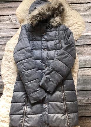 Зимнее женское пальто cropp