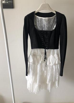 Винтаж , винтажная рубашка-блузка с корсетом
