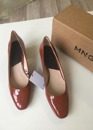 Новые туфли mango, 38р