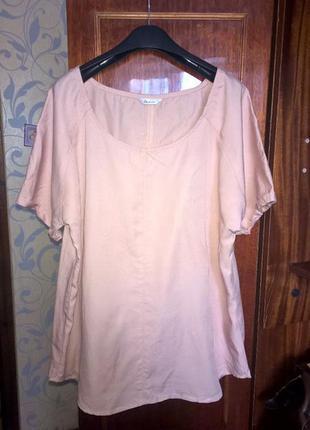 Блуза/футболка большого размера
