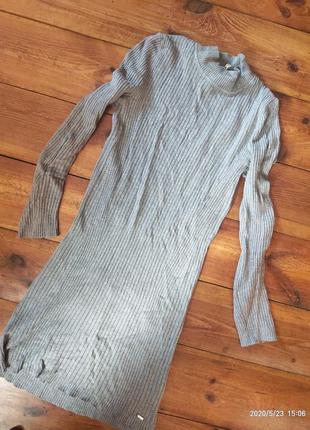 Теплое по фигуре платье