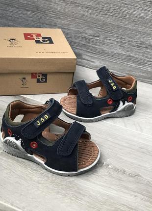 Кожаные босоножки сандали 19-24 р