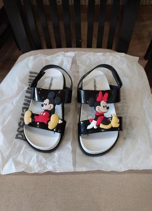Новые крутые сандали mini melissa оригинальные