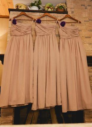 Длинное эффектное платье h&m