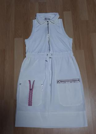 Шелковое невесомое, очень нарядное платье из италии vdp mini club