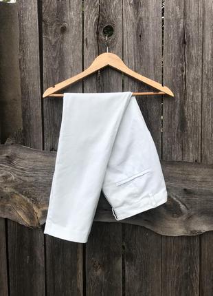 Мятные брюки чиносы zara