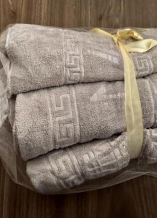 Подарочный набор полотенец сауна+лицо