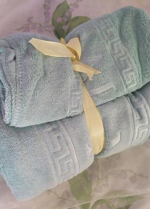 Подарочный набор полотенец сауна + лицо