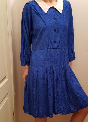 Бесподобное стильное платье в винтажном стиле германия вискоза