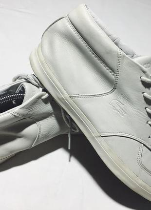Мужские кожаные ботинки lacoste ( лакост 44,5рр 28,5см )