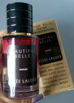 Шикарная новинка! арабский тестер люкс 60 мл estee lauder beautiful belle