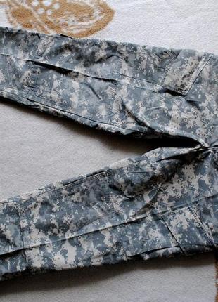 Камуфляжные штаны usa army combat uniform acu medium-regular