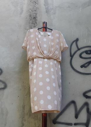 Винтажное шелковое платье akris