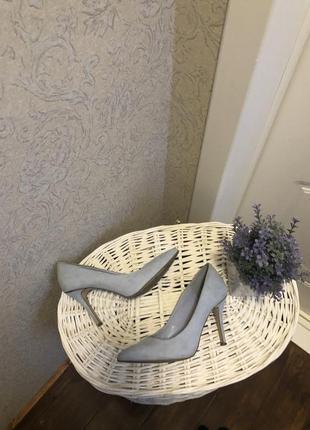 Голубые туфли new look