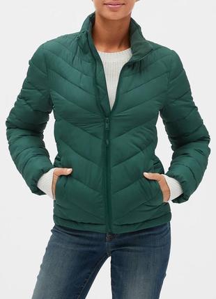 Куртка стеганая теплая женская xs gap куртки женские оригинал сша